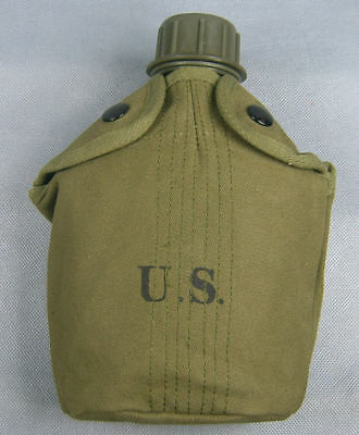 Vietnam War Us Army M1956 Canteen And Cover -4512
