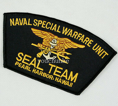 Us Naval Special Warfare Unit Seal Team Pearl Harbor Hawaii Patch -32264