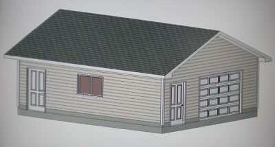 24 39 x 36 39 garage shop plans material list blueprints for 20 x 24 garage plans
