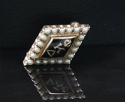 Fraternity Pin Collection Antique Phi Kappa Delta 10K Pin