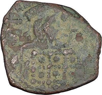 Constantine X  Ducas 1059AD Large Ancient Byzantine Coin JESUS CHRIST i38940