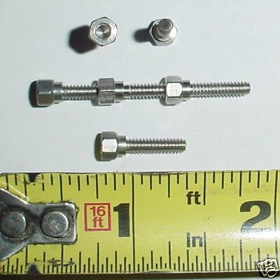 "25 ea 4-40 x 7/16""  ""Screw Nuts"" Standoffs Stainless"