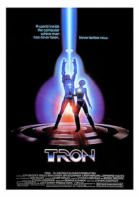 Tron (1982) - A1/A2 Poster **BUY ANY 2 AND GET 1 FREE OFFER**