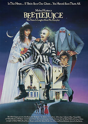 Beetlejuice - A1/A2 Poster **BUY ANY 2 AND GET 1 FREE OFFER**