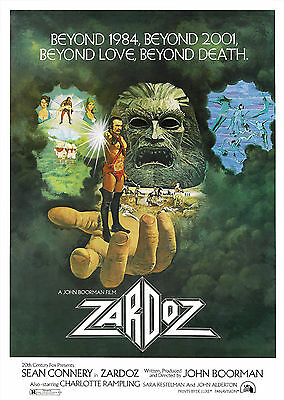 Zardoz (1974) - A1/A2 Poster **BUY ANY 2 AND GET 1 FREE OFFER**