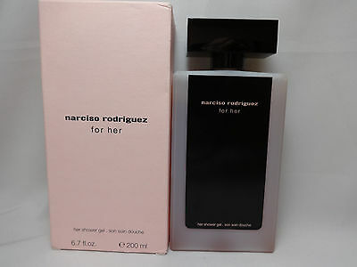 Narciso Rodriguez Original 6.7 oz 200 ml Scented Shower Gel for Women New Boxed