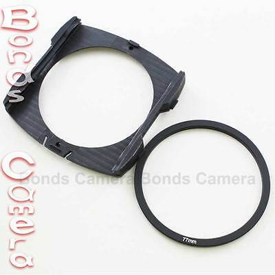 77mm Adapter Ring + Wide Angle Filter Holder for Cokin P Series Camera Lens