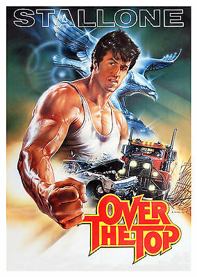 Over the Top (1987) - A1/A2 Poster **BUY ANY 2 AND GET 1 FREE OFFER**