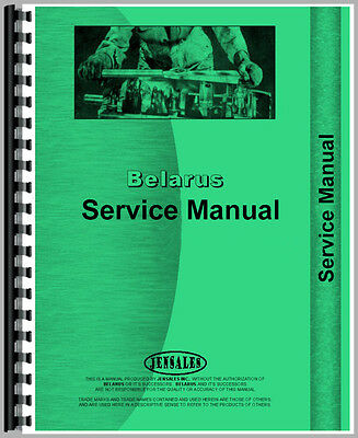New Belarus 525 Tractor Service Manual