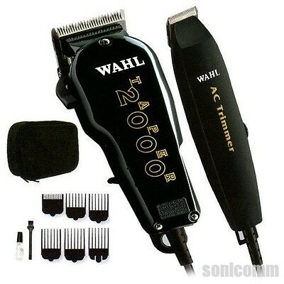 Wahl Professional Essentials Clipper and Trimmer Kit Barber Combo Set Model 8329