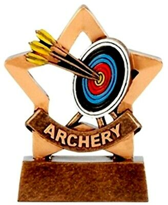 Stand up resin Archery trophy award target trophies free engraving