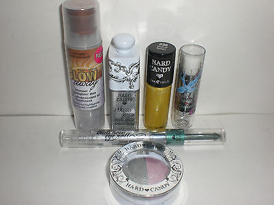 Hard Candy Eye Lip Face Nail Makeup Lot of 6 Different Brand New FRESH Pieces