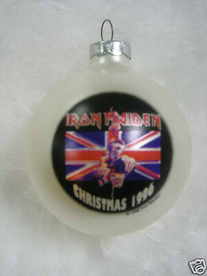 Iron Maiden      Limited Edition Collectible Ornament ~~~New~~~ 1996