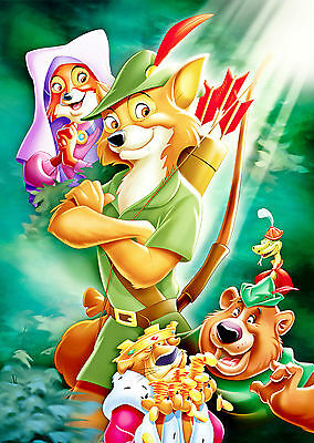 Robin Hood (1973) - A1/A2 POSTER **BUY ANY 2 AND GET 1 FREE OFFER**