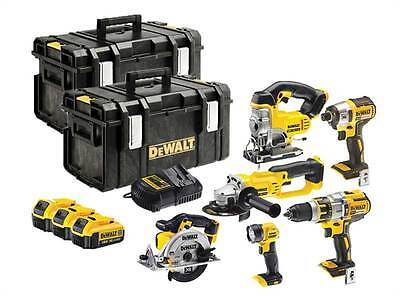 DeWalt DCK694M3 18v Cordless Li-ion 6 Piece Power Tool Kit 3 x 4.0ah Batteries