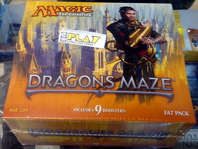 Fat Pack Dragon's Maze Laberinto Del Dragon Mtg Magic The Gathering Nuevo New