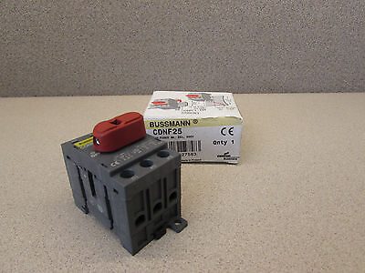 BUSSMANN CDNF25 COMPACT SWITCH NONFUSED