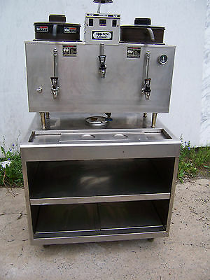USED Bunn Omatic U3 Coffee Urn with Stand