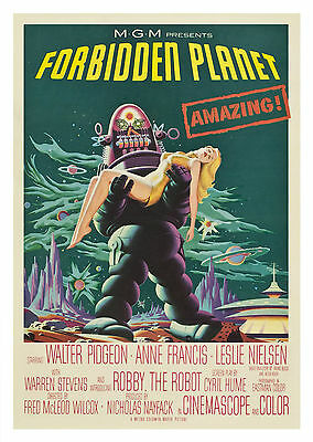 Forbidden Planet (1956) - A1/A2 Poster **BUY ANY 2 AND GET 1 FREE OFFER**