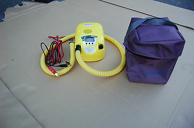Electric pump for inflatable boat with Digital Control and LCD screen INFLATOR