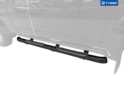 TYGER 3''black side step bars Fit 05-14 Frontier King Cab/Equator Extra Cab New