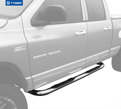 Tyger New 4 Stainless Side Step Nerf Bars Fit 07 14 Silverado