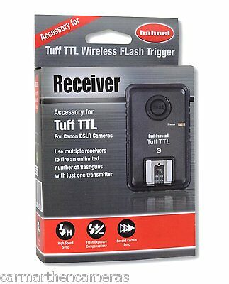 Hähnel Tuff TTL Radio-Controlled Flash Receiver for Canon