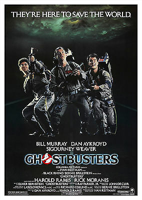 Ghostbusters - A1/A2 Poster **BUY ANY 2 AND GET 1 FREE OFFER**