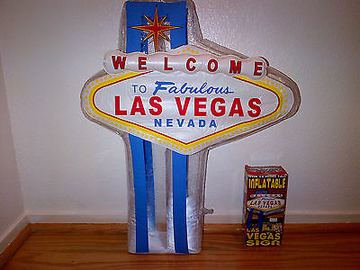 Welcome to Fabulous Las Vegas inflatable sign. (Lot of 10)
