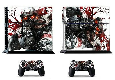 Killzone3 254 Vinly Skin Sticker Sony PS4 PlayStation 4 and 2 controller skins