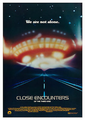 Close Encounters of the Third Kind - A1/A2 Poster **BUY ANY 2 AND GET 1 FREE**