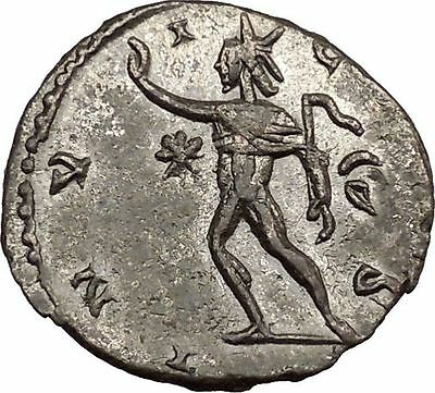 Victorinus  269AD Very rare Silvered Ancient Roman Coin Sol Sun God Cult i39009