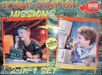 Scout-Station * Mission 2 * 2-In-1 Set * Funksprechgerät