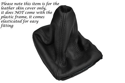Fits Peugeot 306 Gear Gaiter Gaitor Shift Boot Leather 1993-2001 Black