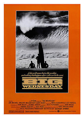Big Wednesday (1978) - A1/A2 Poster **BUY ANY 2 AND GET 1 FREE OFFER**