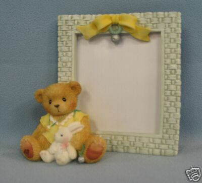 Enesco Cherished Teddies Baby with Bunny Picture Frame #778907
