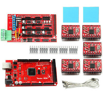 Geeetech RepRap RAMPS1.4 with Pololu stepper driver A4988 for Arduino Mega2560