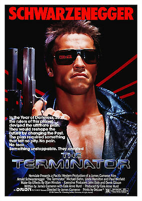The Terminator (1984) - A1/A2 Poster **BUY ANY 2 AND GET 1 FREE OFFER**