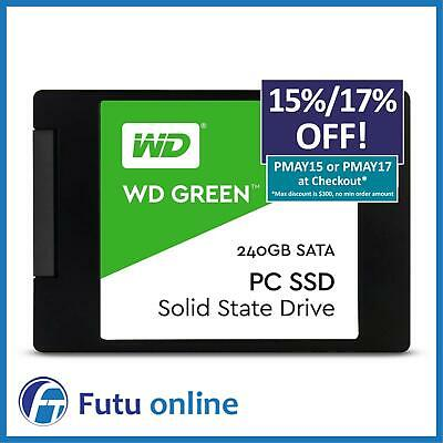 "Western Digital WD SSD 240GB Green 2.5"" SATA Internal Solid State Drive 545MB/s"