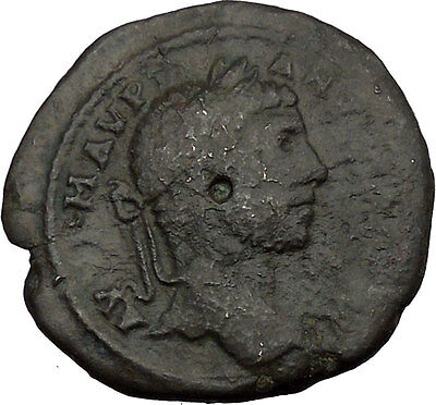 ELAGABALUS 218AD Odessos Thrace Great God Derzelas Ancient Roman Coin i38843