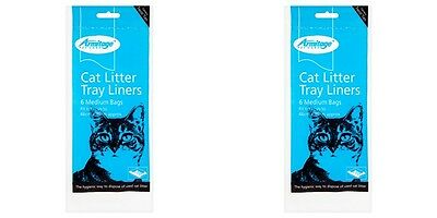 12x Good Girl Cat Litter Liners Medium 46x38 cm approx