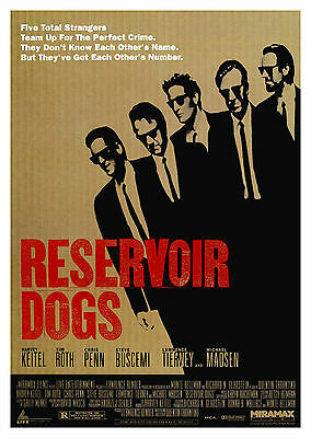 Reservoir Dogs (1992) - A1/A2 POSTER **BUY ANY 2 AND GET 1 FREE OFFER**