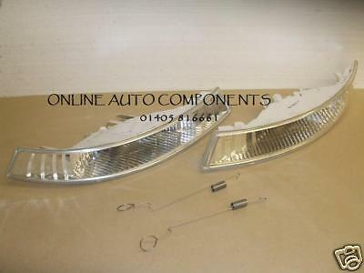 Renault TRAFFIC TRAFIC CLEAR  FRONT INDICATORS LIGHTS LAMP PAIR 01-06