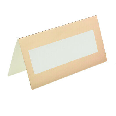 Pack of 50 Rose Gold Metallic Wedding Place Cards XPPC26