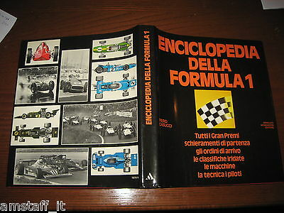Libro/book=Enciclopedia Della Formula 1 F.1=Classifiche=Macchine=Piloti=1981=