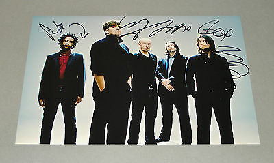 Elbow SIGNED by ALL 5 12x8 Photo Genuine Authentic Music Band AUTOGRAPH + COA