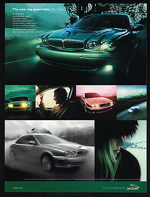 2002 Jaguar X-Type Car The New Jag Generation Print Ad