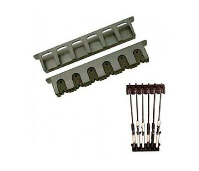 Berkley Vertical Fishing Rod Rack - Neatly & Securely Stores 6 Fishing Rods