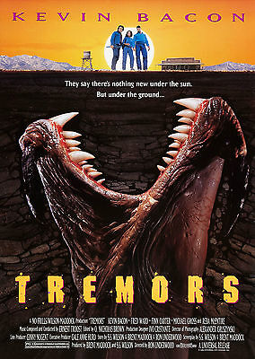 Tremors (1990) - A1/A2 Poster **BUY ANY 2 AND GET 1 FREE OFFER**