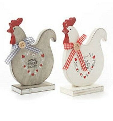 Wooden Home Sweet Home Hen Home Kitchen Decoration Shabby Chic Easter Gift